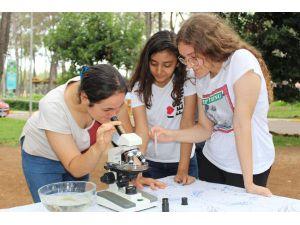 Özel Öğrencilerden Bilim Ve Sanat Projesi