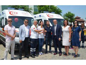 Antalya'ya 12 Yeni Ambulans