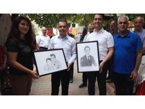 Erzin Halk Eğitimi Merkezi Yılsonu Sergisi Açıldı