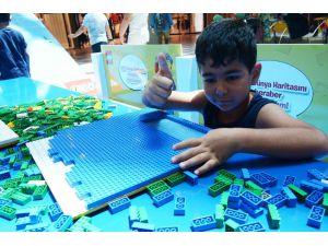 Karnesini Alan Öğrenciler Lego Festivali'ne Koştu