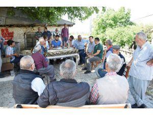 Başkan Bozdoğan, 10 Günde 100 Köy Gezdi