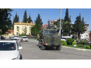 Suriye Sınırındaki Birliklere Asker Takviyesi
