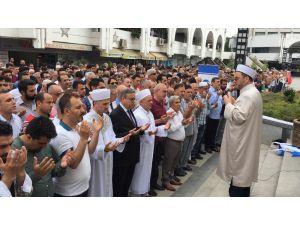 Mursi İçin Mersin'de Gıyabi Cenaze Namazı Kılındı