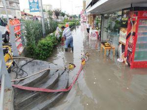 Osmaniye'de Sağanak Yağış
