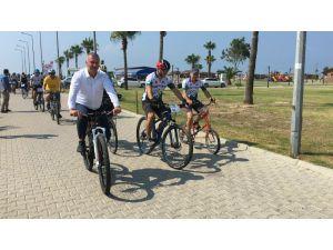 Karataş'ta Adana Bisiklet Festivali
