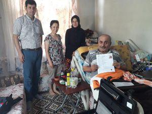 Kumluca'da Evde Kimlik Değişikliği Uygulaması