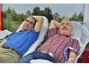 Orman Personeli Kan Bağışında Bulundu