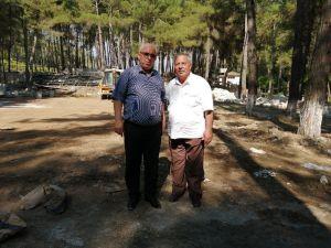 """Yayladağ Belediye Başkanı Mustafa Sayın: """"Aba Güreşi'ne Hizmet İçin Ormanda Tesis İnşa Ediyoruz"""""""