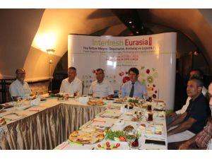 Interfresh Eurasia Fuarının Tanıtımı Hatay'da Yapıldı