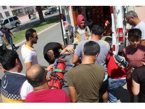 Gazipaşa Motosiklet Kazası: 1 Yaralı
