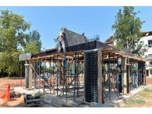 Konuksever'de Yaşlı Evi İnşaatı Başladı