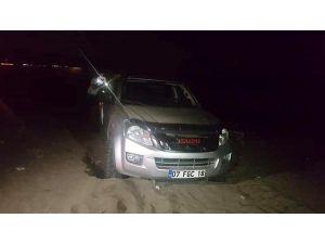 Caretta Sahilinde Drift Yapan Sürücünün Ehliyetine El Konuldu