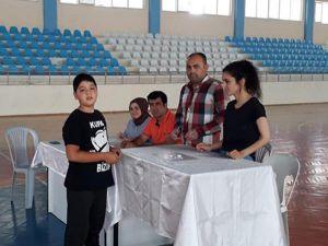 Korkuteli'nde Masa Tenisi Turnuvası