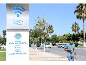 Büyükşehir Belediyesi'nden Sahil Boyu Ücretsiz İnternet Hizmeti