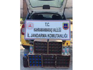 Kahramanmaraş'ta 80 Şişe Kaçak İçki Ele Geçirildi