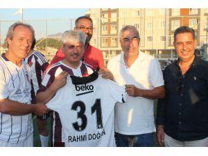 Beşiktaş Efsaneleri İle Hatay Protokolü Maç Yaptı