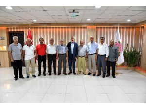 Esnaf Ve Cami Cemaatinden Başkan Başdeğirmen'e Ziyaret