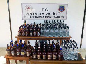 Manavgat'ta Sahte İçki Ele Geçirildi