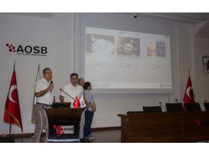 Aosb'de İşletmeler Deneyimlerini Paylaşıyor