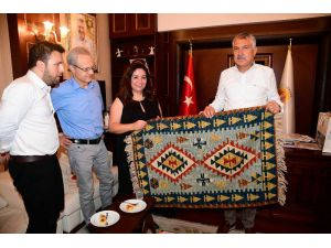 Adana'nın Mega Projeleri İçin Karalar'a Yıldırım Ziyaret