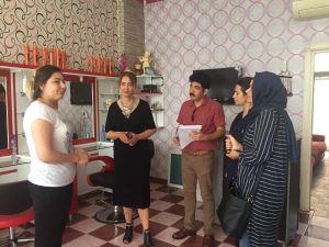 Tarsus'ta Berber, Kuaför Ve Güzellik Salonlarına Denetim