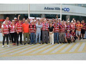 Adana'da Otel İşçileri Grevde