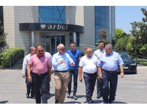 Başkan Gültak'tan Arbel'e Ziyaret