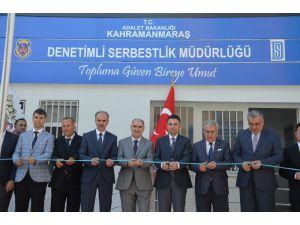 Denetimli Serbestlik Müdürlüğü Yeni Hizmet Binası Açıldı