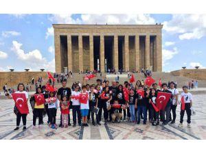 Muratpaşalı Öğrenciler Anıtkabir'de