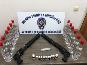 Mersin'de Kaçak Sigara Ve Alkol Operasyonları: 6 Gözaltı