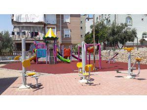 Kepez'de Parklar Yenileniyor