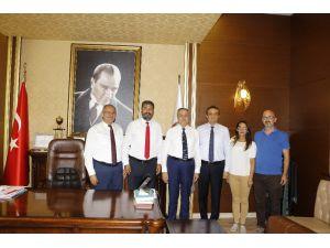Baro Başkanı Yeşilboğaz, Vali Su İle Kent Protokolünü Makamında Ağırladı
