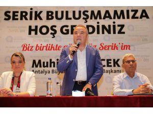 Başkan Böcek: Turizm Birliği Tek Çatı Altında Olacak