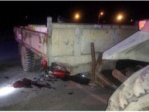 Motosiklet Sürücüsü, Kazadan 5 Gün Sonra Öldü