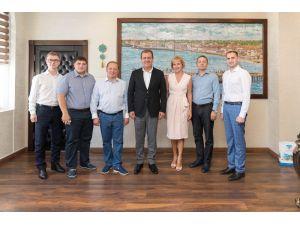 Başkan Seçer, Tataristanlı Yatırımcıları Mersin'e Davet Etti