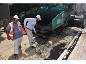 Ceyhan'da Birçok Mahallede Asfalt Çalışmaları Tamamlandı