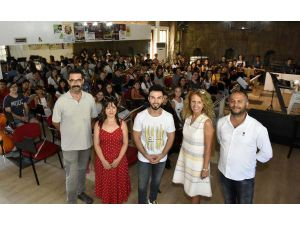 Amal Azim, Gençlik Orkestrasına Konuk Oldu
