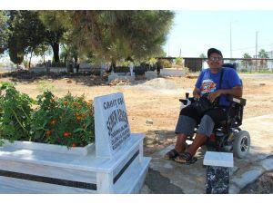 Mezarlıkta Engelli Vatandaşa Yönelik Düzenleme