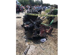 Tren Traktörü İkiye Böldü, Sürücü Öldü