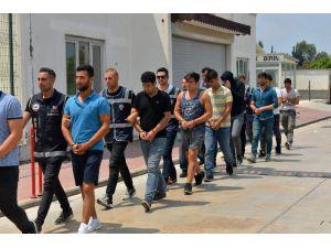 Fetö Operasyonunda Gözaltına Alınan 41 Kişi Adana'ya Getirildi