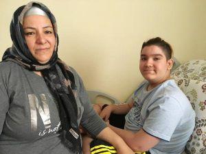 Kas Hastası Enes'in Tek İsteği, Kaldırma Lifti