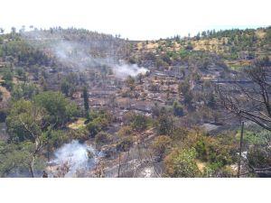 Gülnar'daki Orman Yangınına Büyükşehir Belediyesi Ekipleri De Müdahale Etti