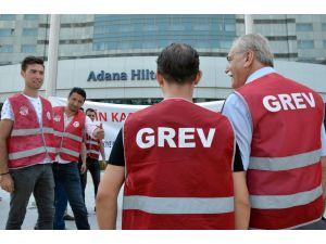 Adana'da Otel İşçilerinin Grevi Sona Erdi