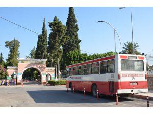 Büyükşehir'den, Tarsus'ta Bayramda Merkez Mahallelerden Mezarlığa Ücretsiz Ulaşım