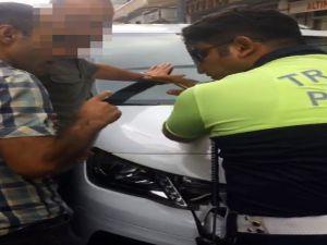 Esnaftan Ceza Yazan Trafik Polisine Hakkari'ye Sürdürme Tehdidi