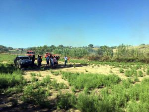 Piknikçilerin Mangalı Yangın Çıkardı, 10 Dönüm Yandı
