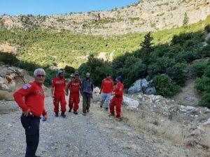Mersin'de Kayıp Şahıs 2 Gün Sonra Ormanda Bulundu