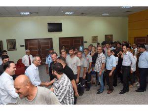 Başkan Bozdoğan, Personelle Bayramlaştı
