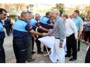 Başkan Gültak, Personeli İle Bir Araya Gelerek Bayramlarını Kutladı