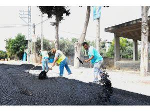 Büyükşehir Belediyesi'nin Asfalt Çalışmaları Devam Ediyor